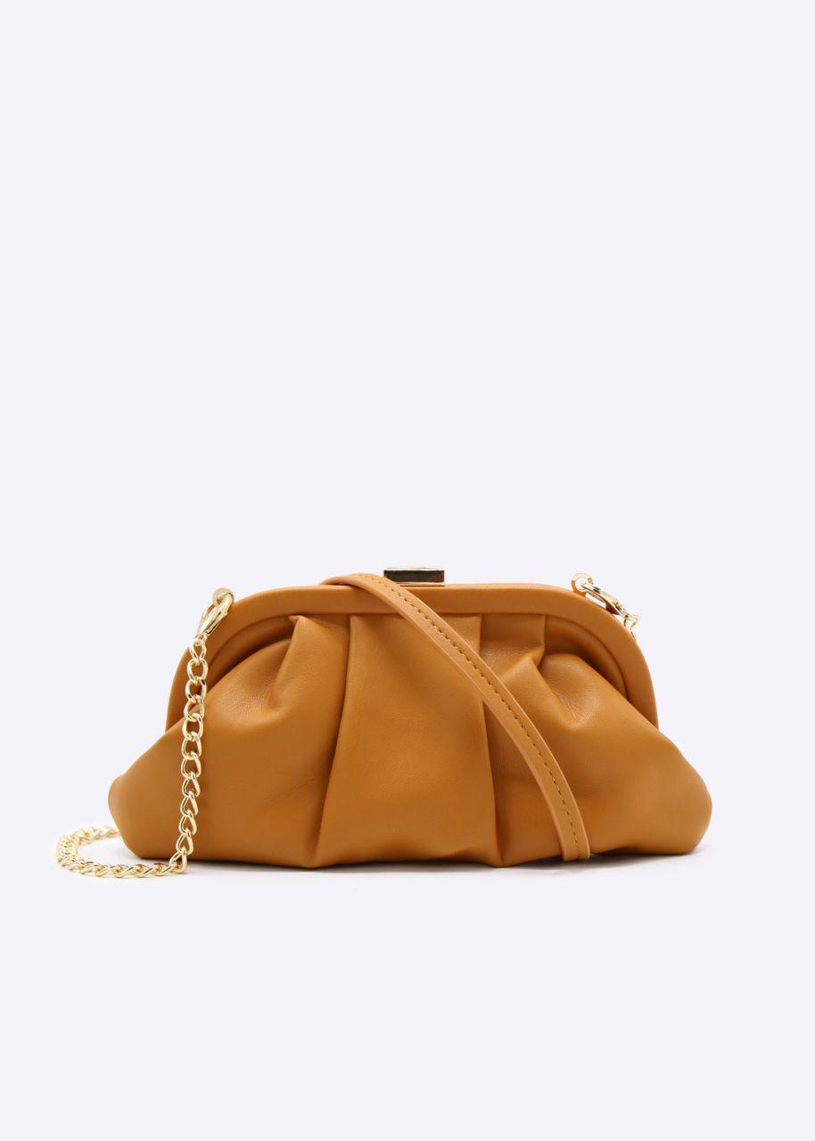 Slouchy mini bag, orange