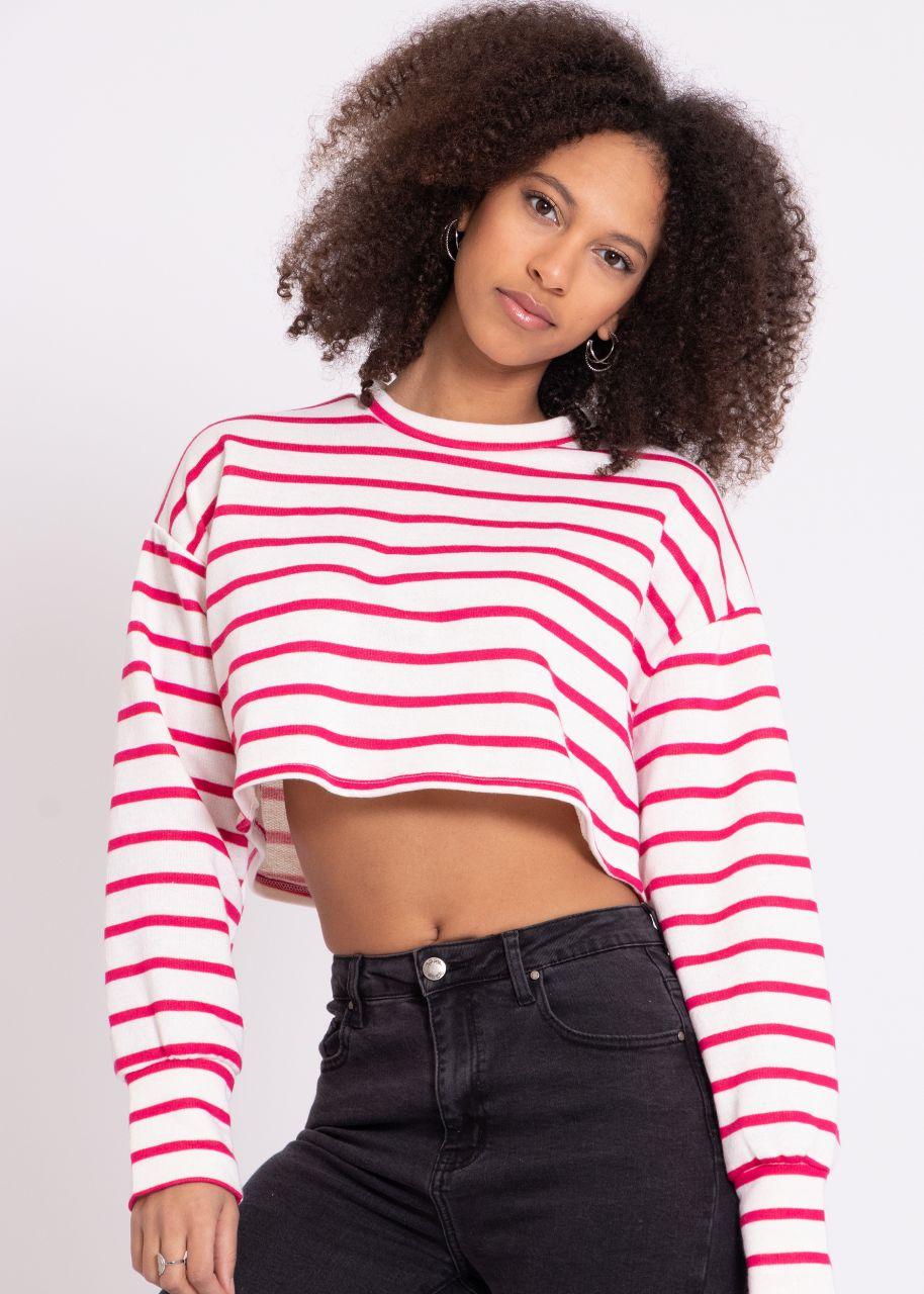 Striped shirt, red