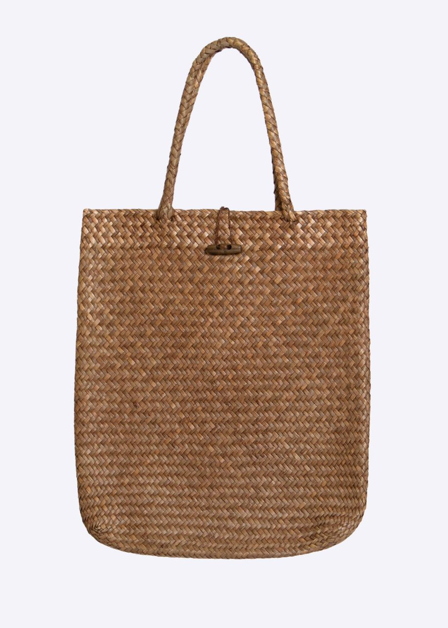 Bast shopper, brown